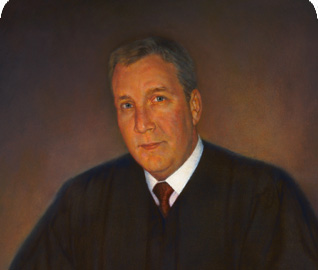 Portrait of Judge Thomas O Castlen by Thomas Kennedy